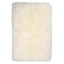 Buy John Lewis Quilted Sheepskin Rug, Ivory Online at johnlewis.com