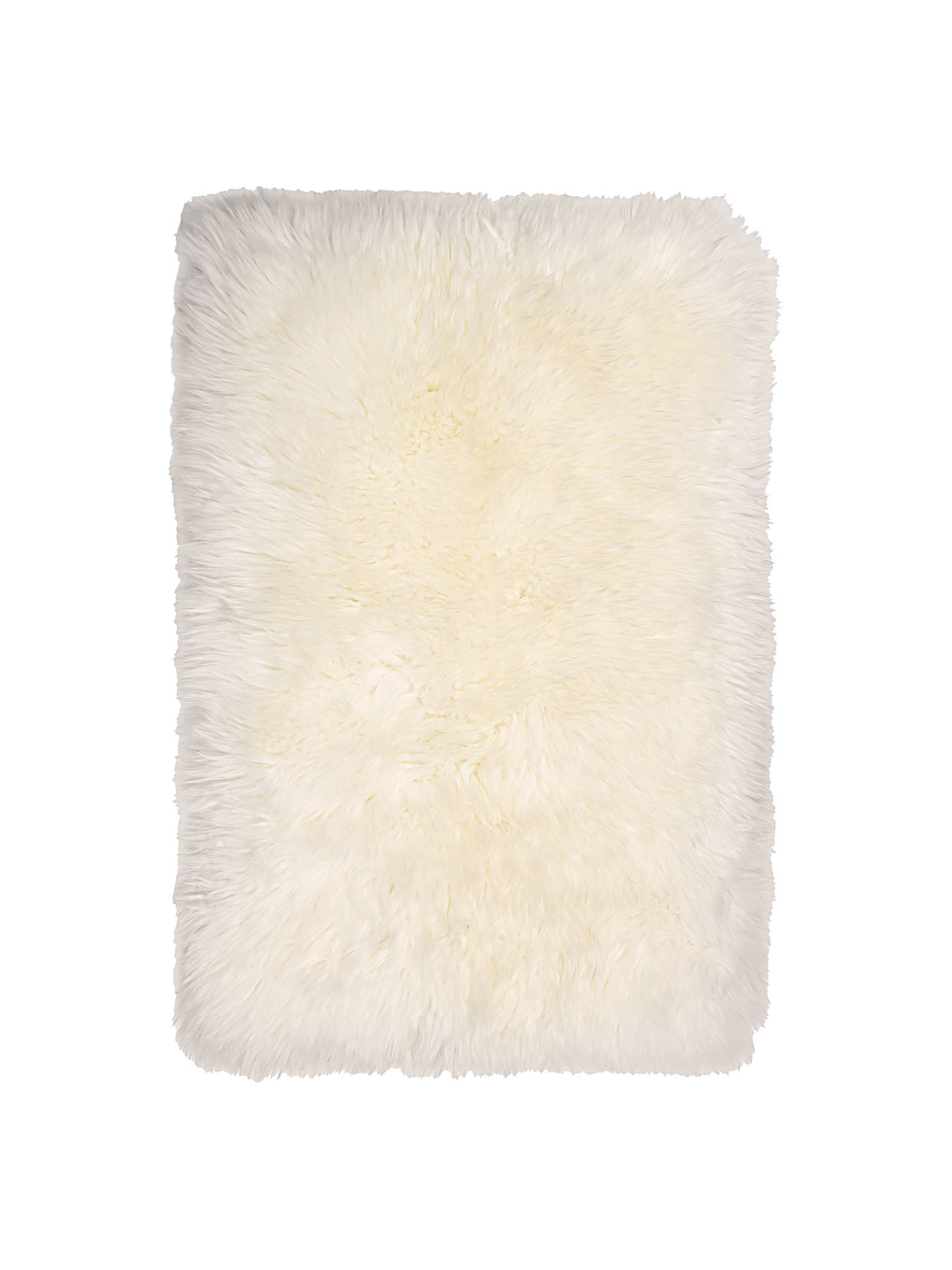 BuyJohn Lewis & Partners Quilted Sheepskin Rug, Ivory, Small Online at johnlewis.com