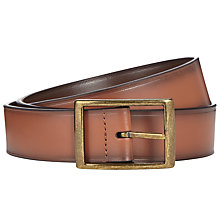 Buy John Lewis Reversible Leather Belt, Brown/Tan Online at johnlewis.com