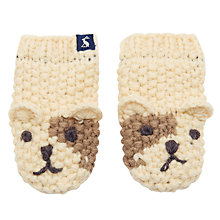 Buy Baby Joule Chummy Dog Mittens Online at johnlewis.com