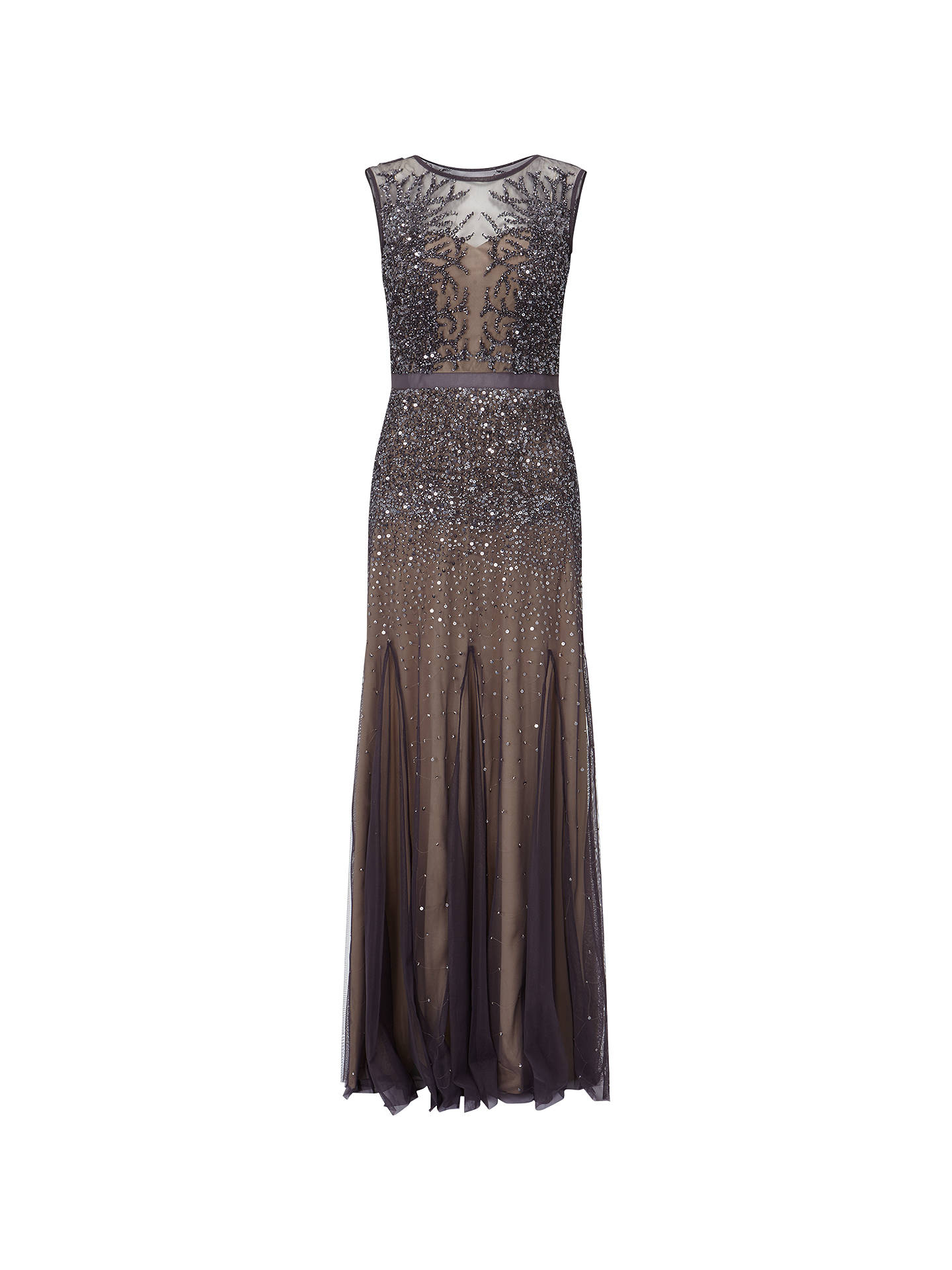 063d3aa4709 ... Buy Adrianna Papell Petite Long Beaded Gown