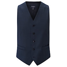 Buy Hackett London Super 110s Wool Pindot Chelsea Regular Fit Waistcoat, Indigo Online at johnlewis.com