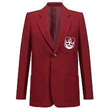 Buy The Broxbourne School Blazer, Maroon Online at johnlewis.com