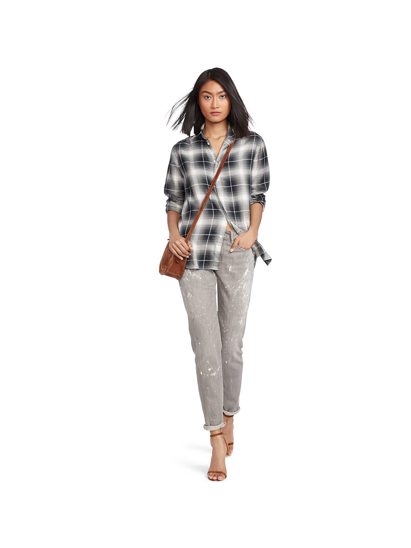 038666c9b07a ... BuyPolo Ralph Lauren Astor Slim Boyfriend Jeans, Grey, 26 Online at  johnlewis.com ...