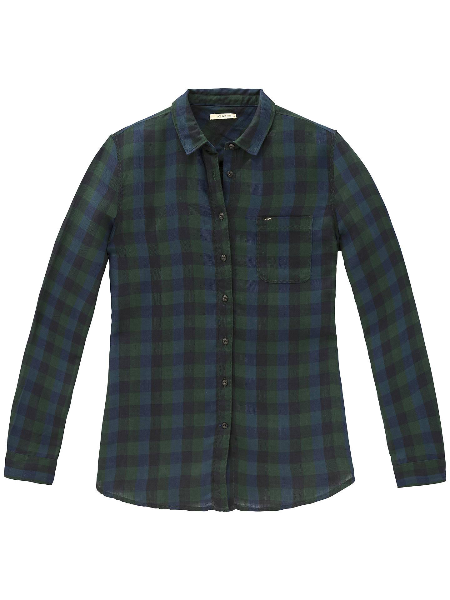 586af773332422 Lee One Pocket Check Shirt at John Lewis   Partners