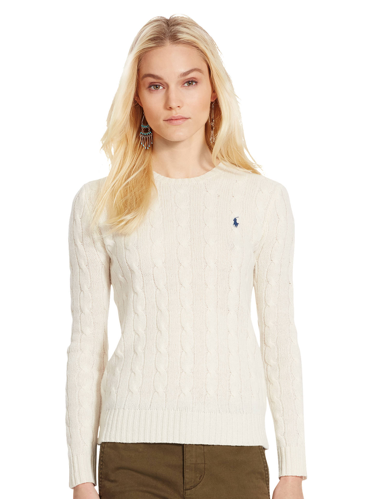 2d3117357 Buy Polo Ralph Lauren Julianna Cable Knit Jumper