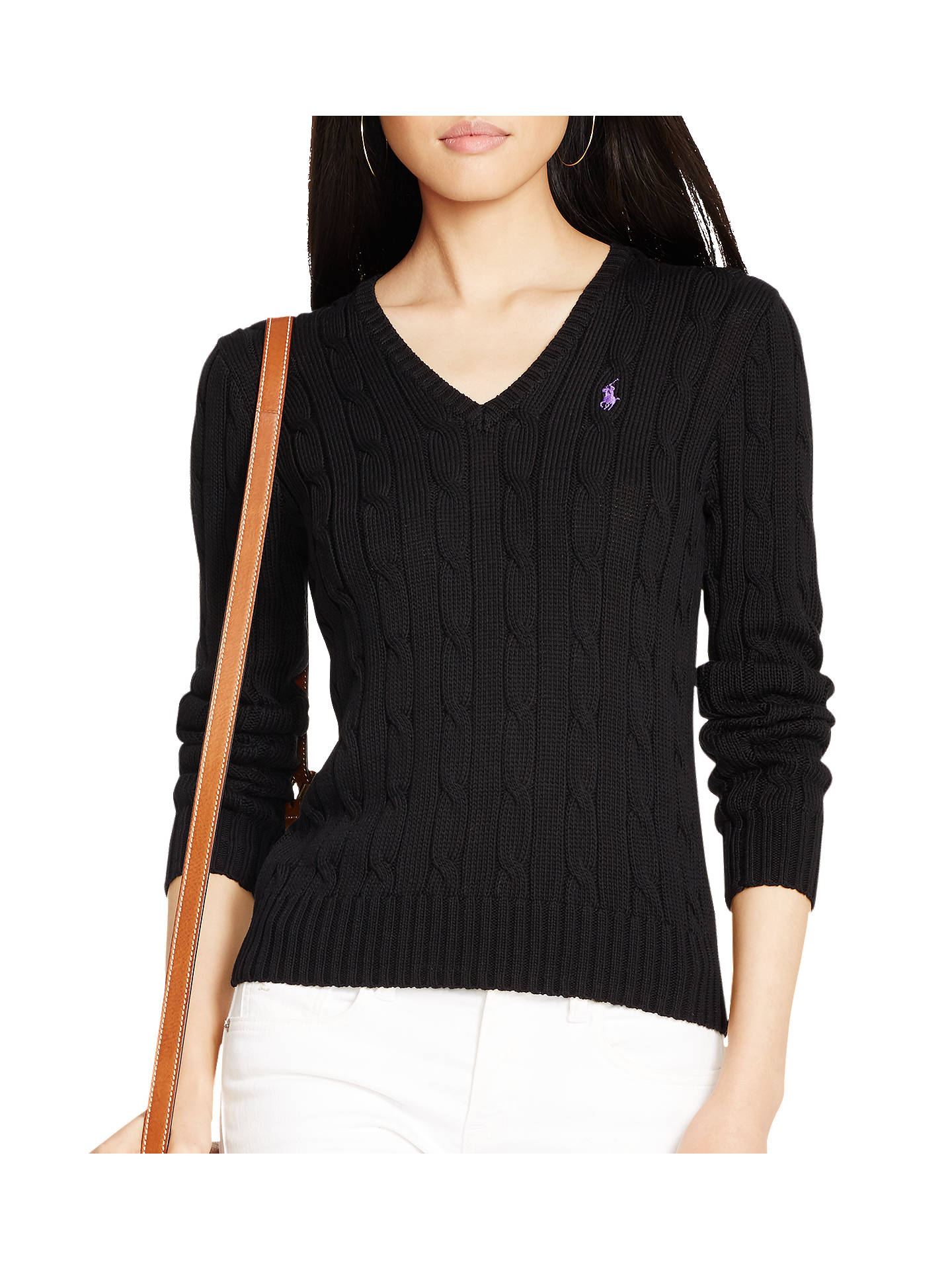 e3bea1841a6a Buy Polo Ralph Lauren V-Neck Cable Knit Jumper