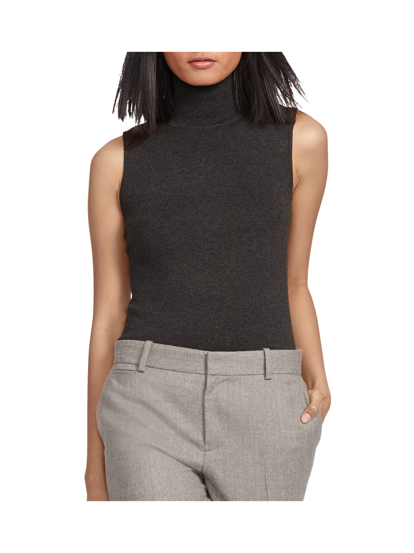 quality and quantity assured new items newest selection Polo Ralph Lauren Sleeveless Turtleneck Jumper at John Lewis ...