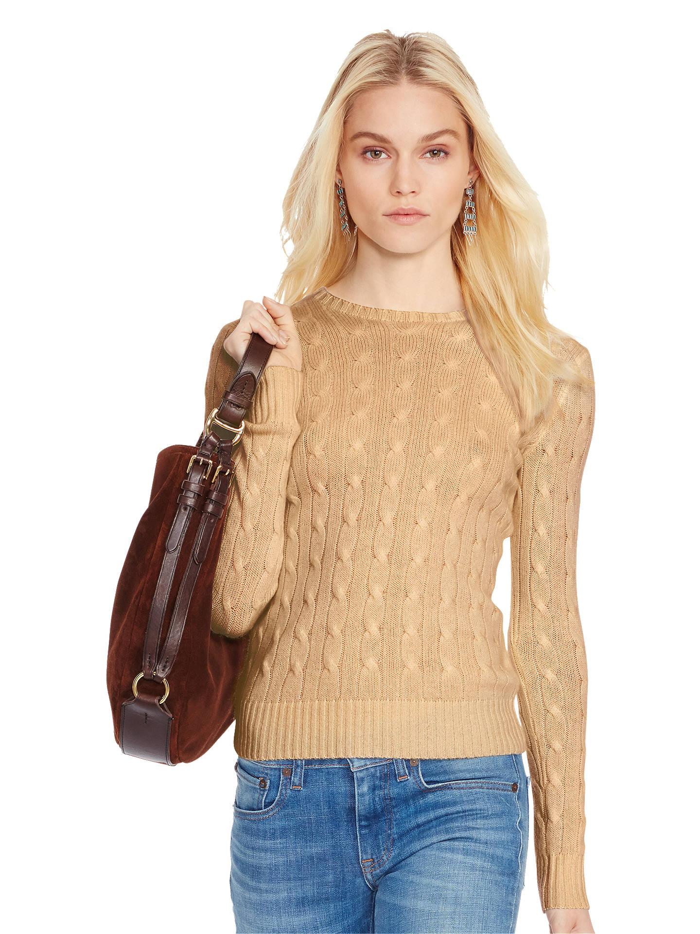 BuyPolo Ralph Lauren Julianna Cable Knit Cashmere Jumper d2609e27d