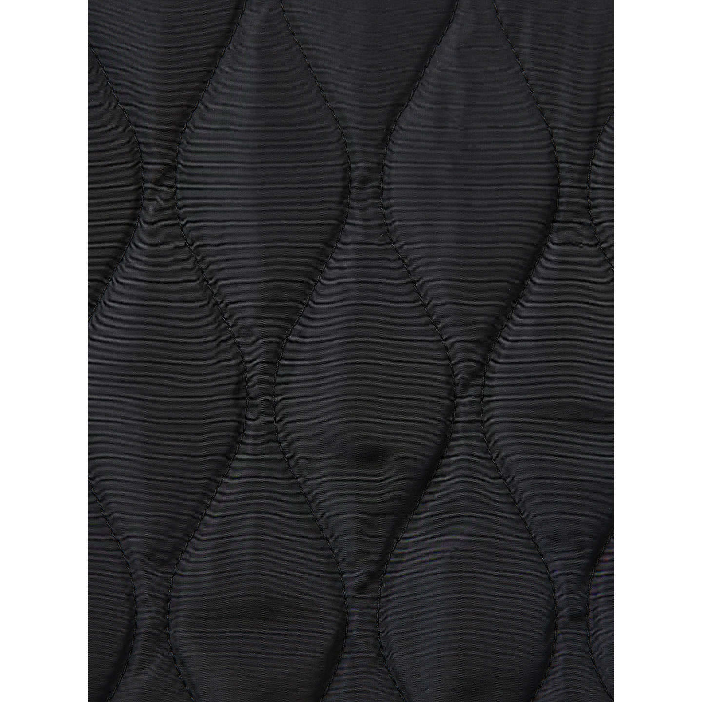 BuyJoules Braemar Quilted Gilet, Black, 10 Online at johnlewis.com