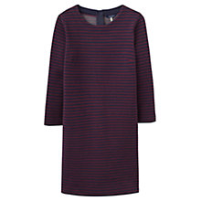 Buy Joules Marie Jersey Dress, Burgundy Navy Stripe Online at johnlewis.com
