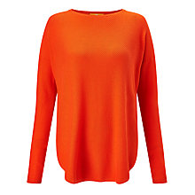 Buy BOSS Orange Ismina Jumper, Spicy Orange Online at johnlewis.com