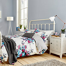 Buy Joules Charlotte Floral Cotton Bedding Online at johnlewis.com