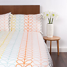 Buy Orla Kiely Linear Stem Cotton Bedding Online at johnlewis.com