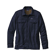 Buy Patagonia Insulated Fjord Flannel Men's Jacket, Navy Blue Online at johnlewis.com