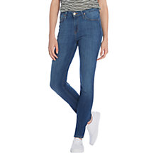 Buy Lee Scarlett High Waist Skinny Jeans, Dark Deluxe Online at johnlewis.com