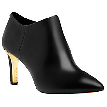 Buy Ted Baker Nyiri Stiletto Heel Ankle Boots, Black Online at johnlewis.com