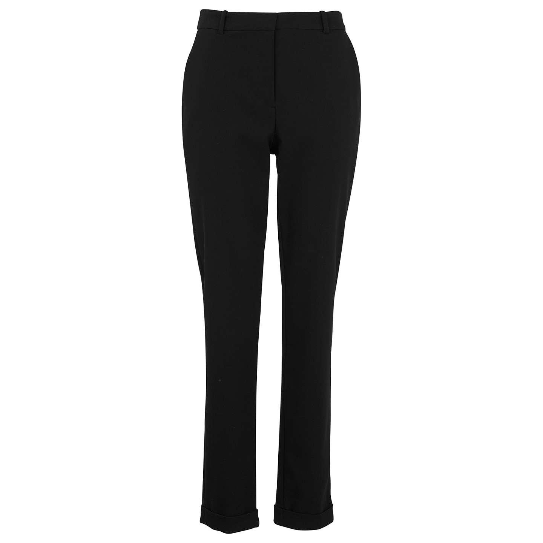 BuyWhistles Sadie Slim Leg Trousers, Black, 6R Online at johnlewis.com ...
