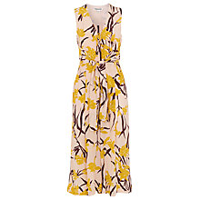 Buy Whistles Amelia Lilly Print Jumpsuit, Pink/Multi Online at johnlewis.com