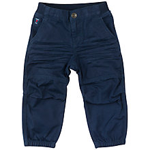Buy Polarn O. Pyret Baby Trousers, Navy Online at johnlewis.com