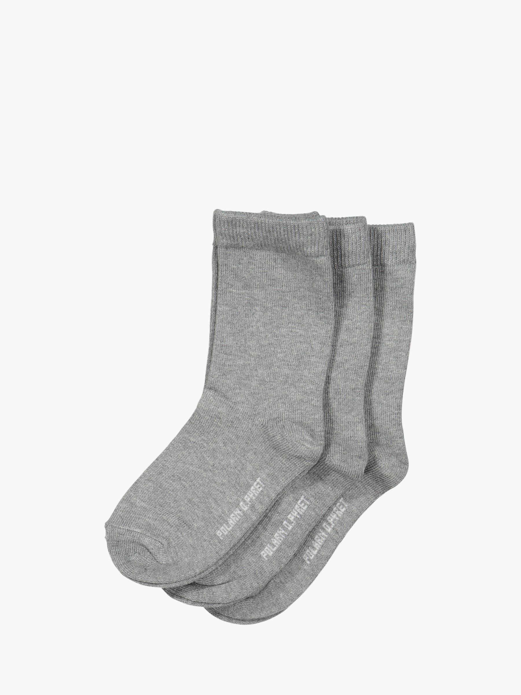 Polarn O. Pyret Polarn O. Pyret Children's Plain Socks, Pack of 3