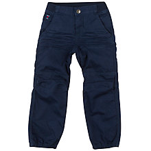 Buy Polarn O. Pyret Boys' Combat Trousers, Navy Online at johnlewis.com