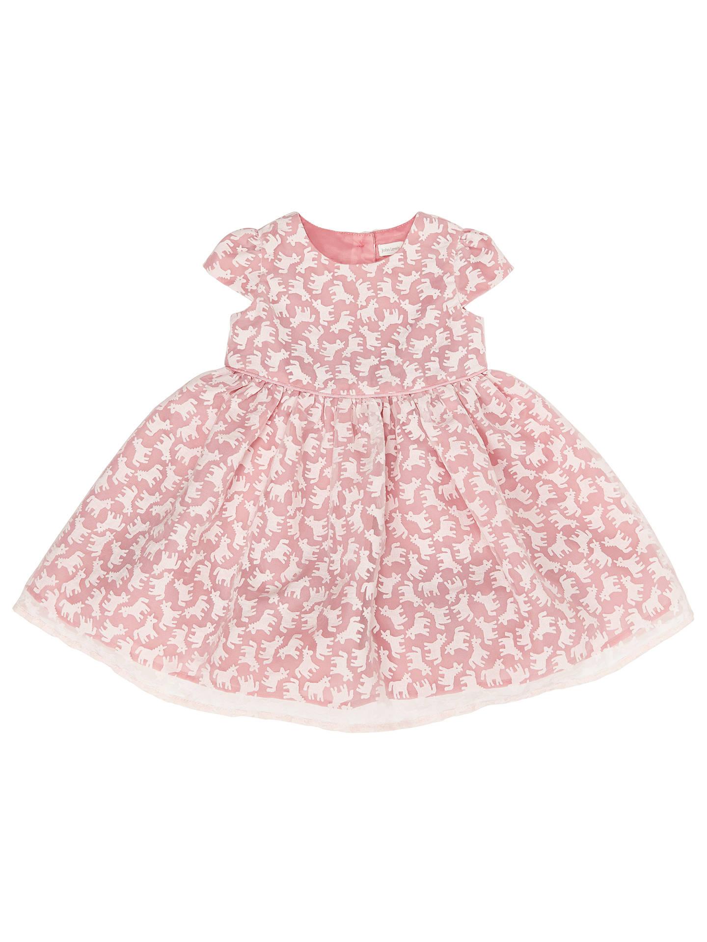 93db9169514d John Lewis   Partners Baby Unicorn Dress