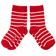 Buy Polarn O. Pyret Children's Striped Socks, Pack of 2 Online at johnlewis.com
