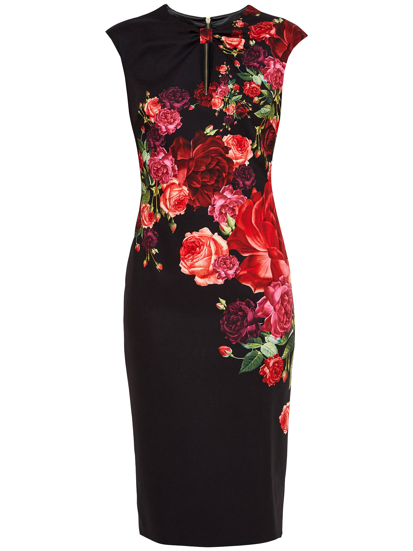 6fd4335e86f4a Buy Ted Baker Mirrie Juxtapose Rose Knot Dress