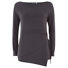 Buy Mint Velvet Wrap Detail Jumper, Grey Smoke Online at johnlewis.com