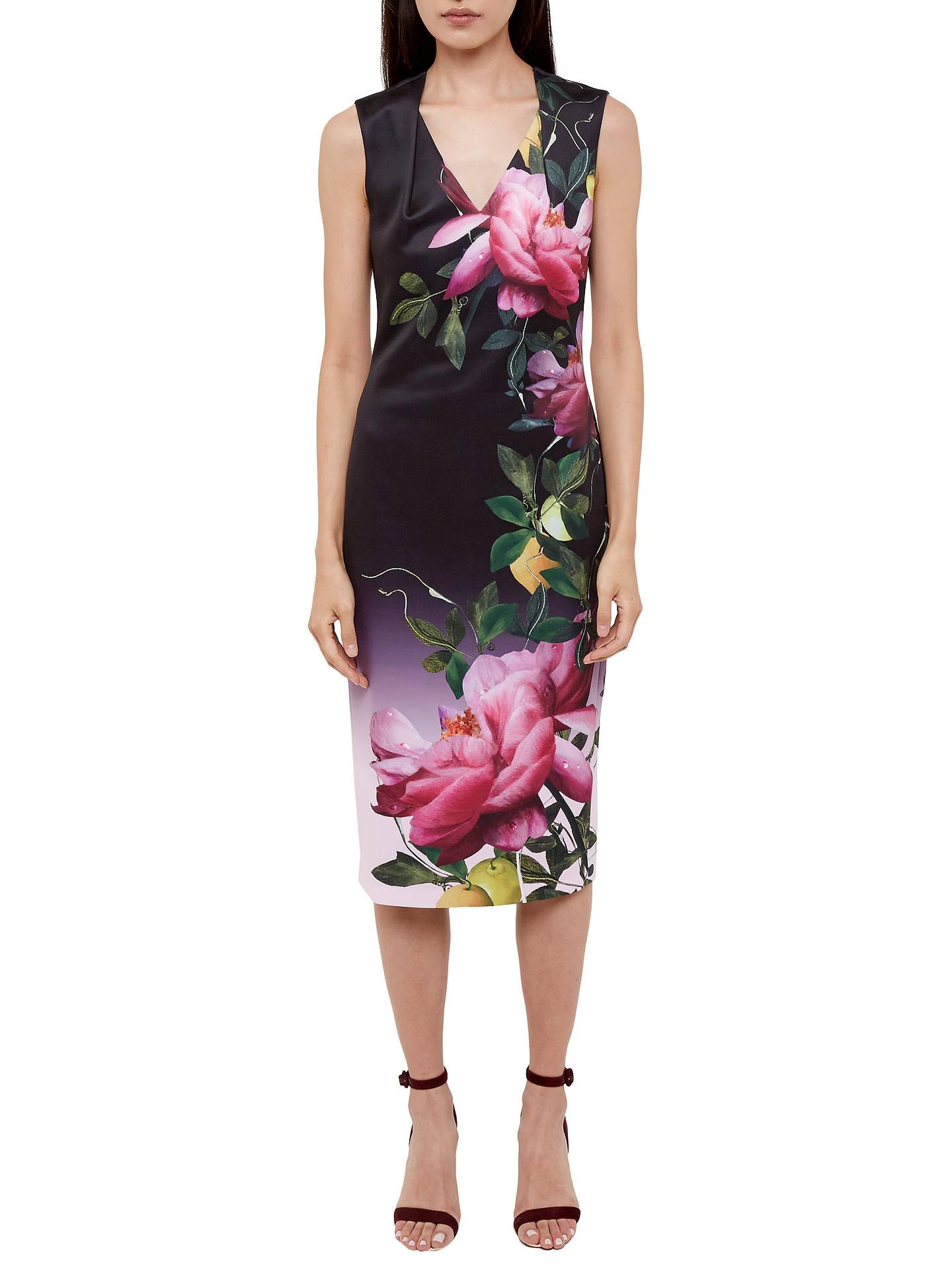 3aa4625c0e3ad3 ... Buy Ted Baker Oldiva Citrus Bloom Midi Dress