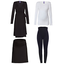 Buy Séraphine Paris Maternity Bump Kit, Black/White Online at johnlewis.com