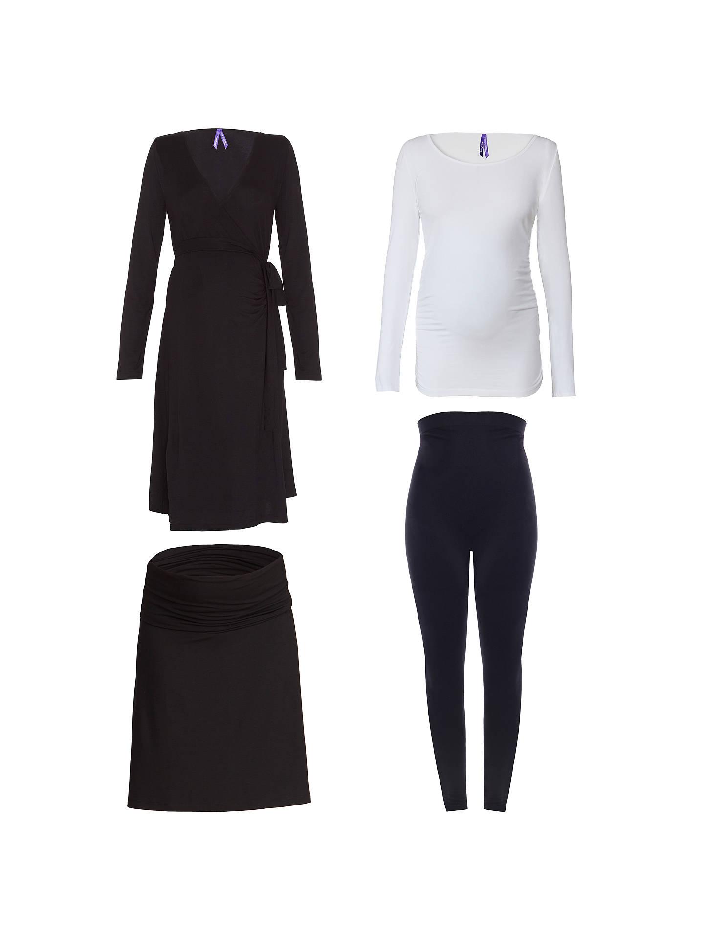 3a71d96642085 Buy Séraphine Paris Maternity Bump Kit, Black/White, XS Online at johnlewis.