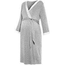 Buy Séraphine Maternity Piper Nightdress, Grey Marl Online at johnlewis.com