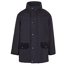 Buy John Lewis Boys' 3-in-1 Waterproof School Coat, Navy Online at johnlewis.com