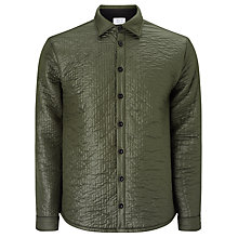 Buy Libertine-Libertine Bravo Quilted Jacket, Green Grey Melange Online at johnlewis.com