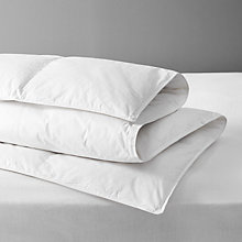 Buy John Lewis Natural Duck Down Duvet, 4.5 Tog Online at johnlewis.com