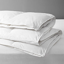 Buy John Lewis 90/10 Fine European Duck Down Duvet, All Seasons 13.5 Tog (9+4.5 Tog) Online at johnlewis.com