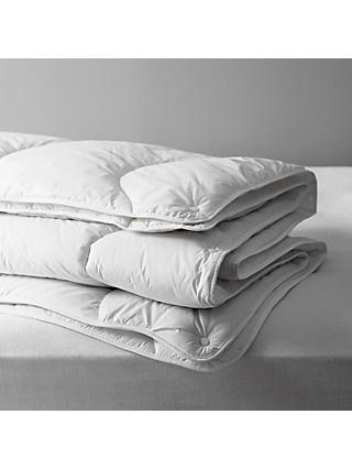 John Lewis & Partners Synthetic Soft Like Down Duvet, 13.5 Tog (4.5 + 9 Tog) All Seasons