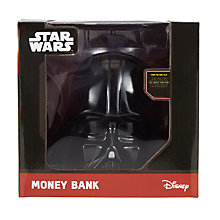 Buy Star Wars Darth Vader 3D Money Box Online at johnlewis.com