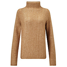 Buy Samsoe & Samsoe Norton Roll Neck Jumper, Burro Melange Online at johnlewis.com