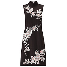 Buy Phase Eight Fleur Embroidered Dress, Chocolate Online at johnlewis.com