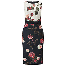 Buy Phase Eight Scuba Dress, Multi Online at johnlewis.com