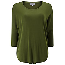 Buy Phase Eight Catrina Top, Khaki Online at johnlewis.com
