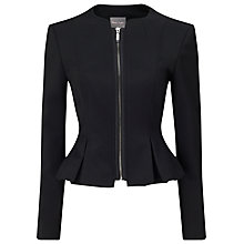 Buy Phase Eight Philippa Zip Jacket Online at johnlewis.com