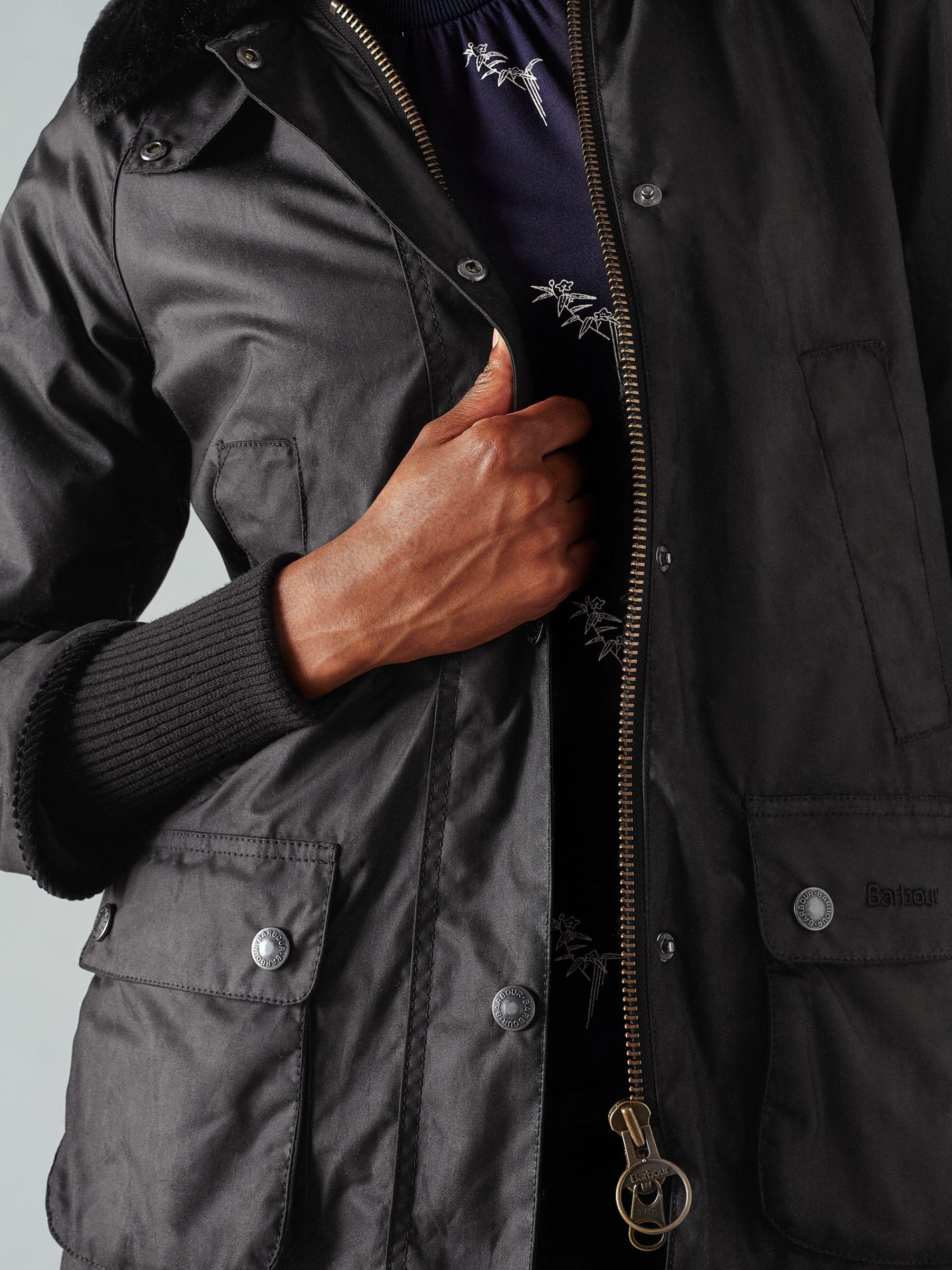 ladies wax jacket size 20