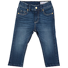 Buy Polarn O. Pyret Baby Slim Jeans, Blue Online at johnlewis.com