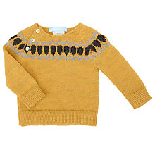 Buy Serendipity Baby Llama Wool Print Jumper Online at johnlewis.com