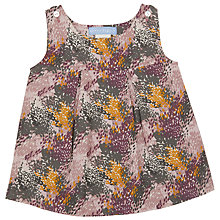 Buy Serendipity Baby Printed Pinafore Dress, Multi Online at johnlewis.com