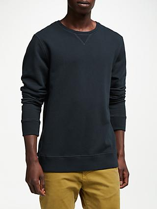 Scotch & Soda Crew Neck Jersey Top, Night
